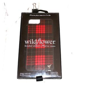 Wildflower iphone 6/7/8 plus phone case